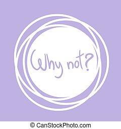 púrpura, no, por qué, señal