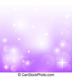 púrpura, resumen, plano de fondo, estrellas