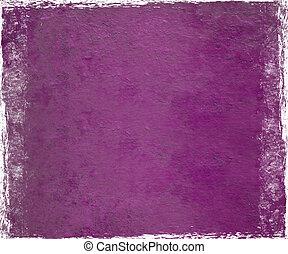 púrpura, rosa, yeso, paintdrip
