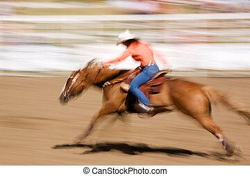 pędzenie, koń