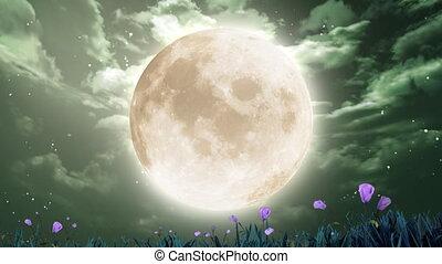 pętla, księżyc