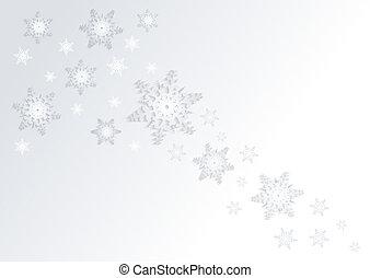 płatki śniegu, tło