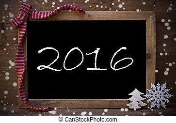 płatki śniegu, tekst, ozdoba, 2016, chalkboard, boże narodzenie
