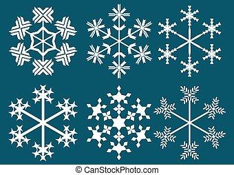 płatki śniegu, zbiór