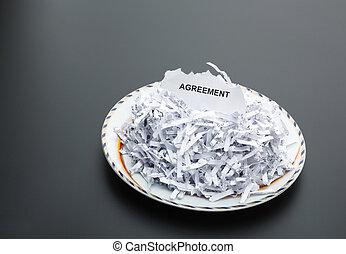 płyta, biały, papiery, stos, strzępiony