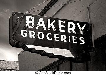příč.min. od wear, firma, pekařství, čerň, koloniál,...