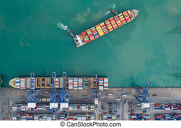 přístav, logistic