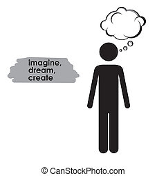 představit si, design