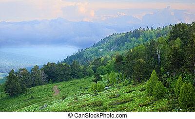 překrásný, krajina