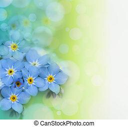 překrásný, květinový, grafické pozadí