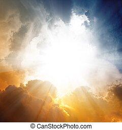 překrásný, nebe