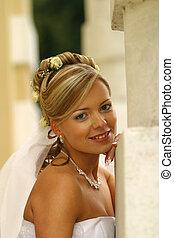 překrásný, nevěsta