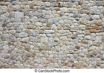 překrásný, stone stěna