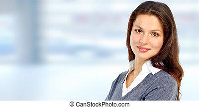 překrásný, woman., povolání