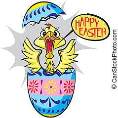 překvapení, velikonoční obalit v rozšlehaných vejcích,...