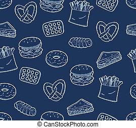 přesnídávka strava, grafické pozadí