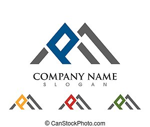 P Letter Logo Template - P Letter Logo Business Template...