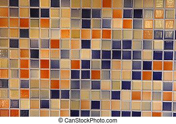 p, mosaico, plano de fondo