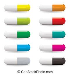 p-pille, variation