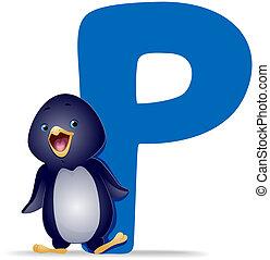 p, pingüim