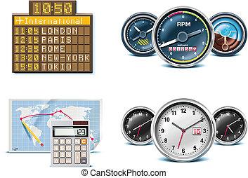 p.3, 旅行, 休暇, icons.