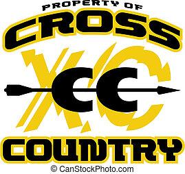 país, desenho, crucifixos