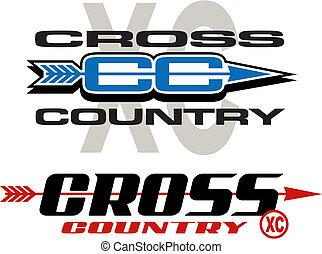 país, diseños, cruz