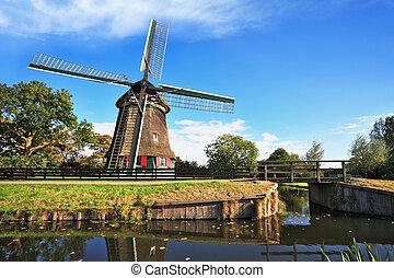 país, molinos de viento,  -, símbolo