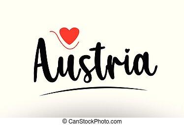 país, tipografia, áustria, desenho, texto, logotipo, ícone