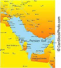 países de golfo pérsico