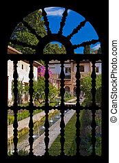 pałac alhambry, hiszpania, granada