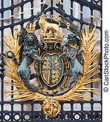 pałac buckinghama, szczegół
