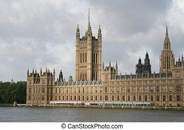 pałac, od, westminster, londyn