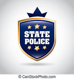 państwowa policja