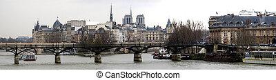 paříž, panoráma