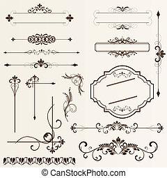 pa, ontwerp onderdelen, calligraphic