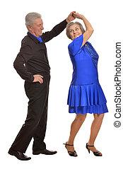 paar, fällig, tanzen