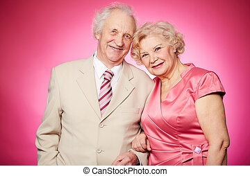 paar, gepensioneerd