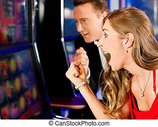 paar, kasino