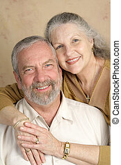 paar, mooi, middelbare leeftijd