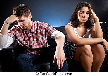 paar, onrust