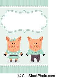 paar, piggies