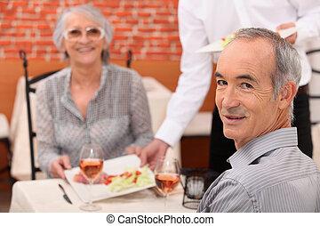 paar, restaurant