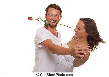 paar, romantische , tanzen