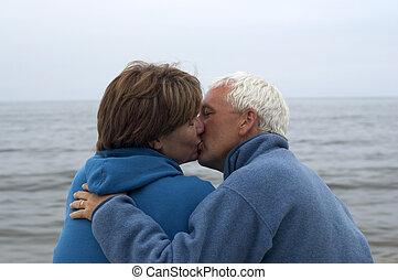 paar te kussen