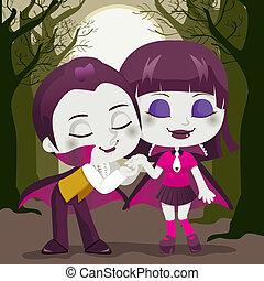 paar, vampier