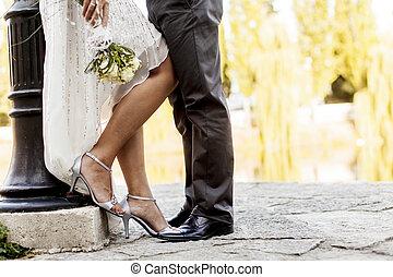 paar, wedding