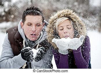 paar, winter