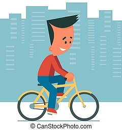 paardrijden, bicycle.