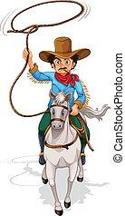 paardrijden, paarde, bejaarde
